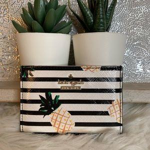 Kate Spade Pineapple Card Holder